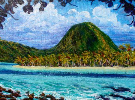 Moua Tapu, Sacred Mountain, Huahine
