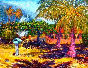 Mata'irea (Golden Wind) Maeva, Huahine
