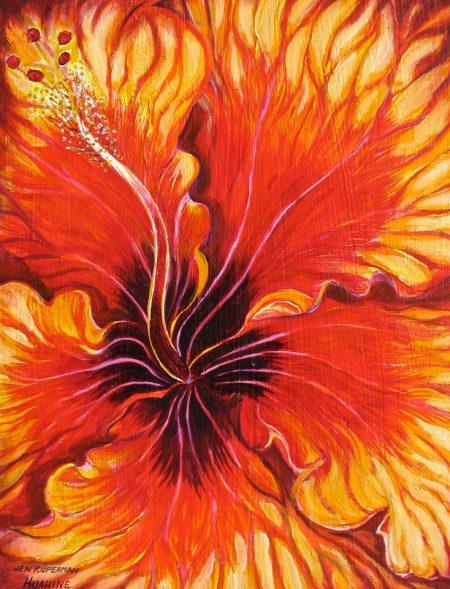 Aute Puatou, Orange Hibiscus