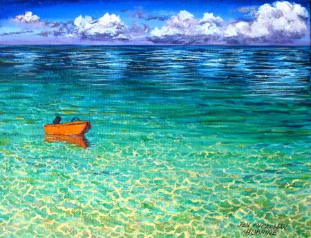 Poti Puätou - Orange Boat Huahine, French Polynesia