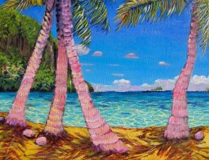 Motu Topati'i, Isle of the Fallen Tiki, Maroe, Huahine