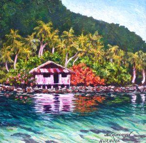 Fare Tahito, Maeva –– Old House, Maeva